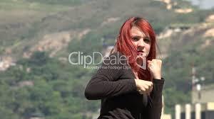 Redhead women free video