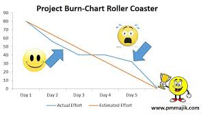 What Is A Burndown Chart In Agile Agile Project Burn Down Chart Overview Pm Majik