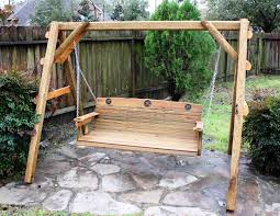 How To Build A Porch Swing This 5 Ft Porch Swing Is Made Of Acq Pressure Treated Lumber Is