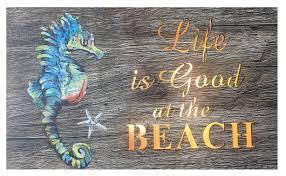 life is good at the beach lighted cut out wall decor sign 1 of 2only 2 available