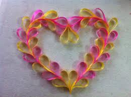 Valentine Door Decoration Ideas Diy Ribbon Heart Wreath Diy Valentine Decorations Heart Wreath