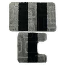 gray bath rug black and rugs designs gray bath rug