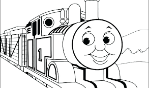 Coloring Pages Trains Thomas Train Coloring Page The Train The Tank