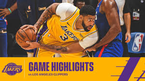 HIGHLIGHTS | Los Angeles Lakers vs Los Angeles Clippers - YouTube