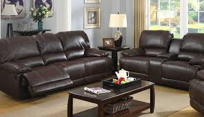 ottoman power pushback piece sets couc red covers and leather sofa top brown melrose gray set