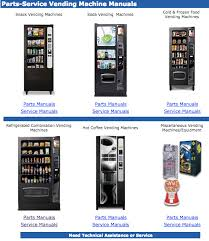 Manual Vending Machines Gorgeous Vendnet USA's Vending Machine Service Includes Downloadable Manuals