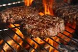 barbecue in the burgers