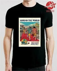 Free World Jeans Size Chart Rare Daft Punk Around The World T Shirt S 2xl Ebay