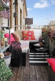 modern apartment balcony patio privacy screen idea