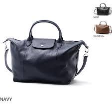 longchamp longchamp handbag 2way le pliage le プリアージュキュイール leather