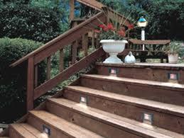 in deck lighting. Install Deck Lighting \u0026 Accessories In