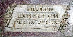 LuAnn Hills Dunn (1956-1986) - Find A Grave Memorial