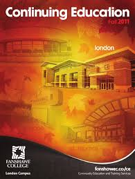 Fanshawe College Continuing Education Fall 2011 By Fanshawe