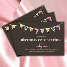 cute rectangular shaped card with brown birthday celebration