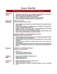 Professional Profile Template Brave100818 Andrew Lacivita Resume