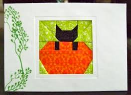 Free Quilt Patterns From Carol Doak & Cat In the Pumpkin Adamdwight.com