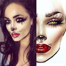 Mac Cosmetics Halloween Face Charts 29 Clean Halloween Face Charts
