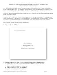 Research Paper Title Legal Style Sheet For Term Papers Carleton University Apa Research