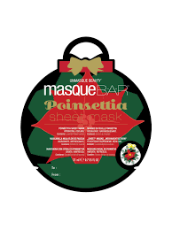 Bar Poinsetta Printed Sheet Mask Kasvonaamio