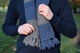 Striped Scarf Knitting Pattern