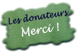 Nos généreux donateurs – Les Amis des Châteaux d'Ottrott