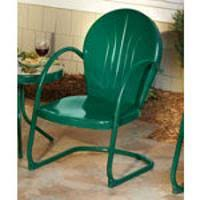 Retro Patio Furniture & Metal Glider Just Like you Remember