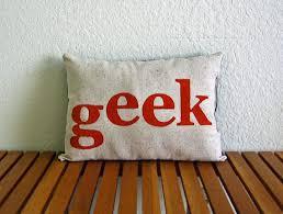 geek office decor. items similar to geek cotton pillow on etsy geek office decor