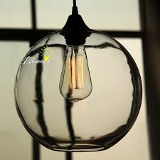 nordic simple orb clear glass pendant lighting. Nordic Simple Orb Clear Glass Pendant Lighting 8884 B