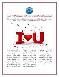 free dating websites sydney