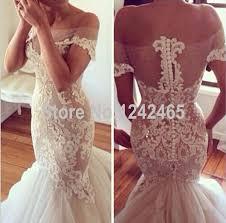 Jordan Bridesmaid Dresses Size Chart Appliqued Beaded Sexy See Through Vestido De Novia Sirena