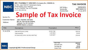 Tax Invoice Layout Classy What Is Tax Invoice How To Issue Tax Invoice Goods Services