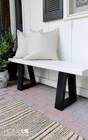 diy furniture west elm knock. Exellent Furniture West Elm Knockoff Bench Tutorial On Diy Furniture Knock I
