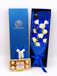 Ferrero Rocher Bouquet Designs Chocolate Bouquet 016 18pcs Rose Bouquet X 8pcs Ferrero Rocher
