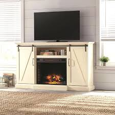 full image for corner electric fireplace tv stand combo with built in uk white home decorators