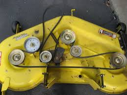 l120 mower belt replacement issues mytractorforum com the the deck viewed from above should look like this covers removed