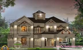 luxury villa design kerala home floor plans home plans
