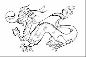 Small Picture terrific chinese water dragon coloring page with chinese dragon