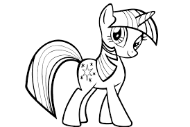 My Little Pony Twilight Sparkle Coloring Pages My Little Pony