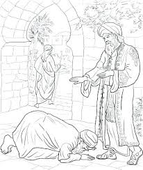 Parable Of The Talents Coloring Page