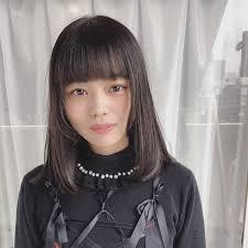 Rickie7777 篠田アキノブ 黒髪ストレート ミディアムスト