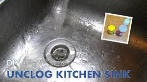 Cleaning Slow Drain Sink With Baking Soda And White Vinegar Youtube