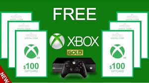 free xbox live gold free xbox gift card codes how to get free xbox gift cards with proof