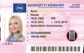– Licence Finnish Dokumencik Driving