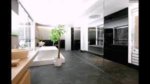 Minimalistisches Badezimmer Schwarz Weiß Youtube