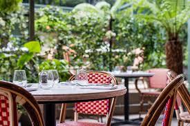 tables in the garden the ivy city garden the ivy city garden