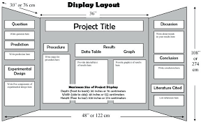 examples of poster board projects science project layout science project layout example