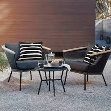 Metal and wood patio furniture Build Your Own Youtube Bangor 3pc Metal Mesh Faux Wood Patio Chat Set Project 62 Target
