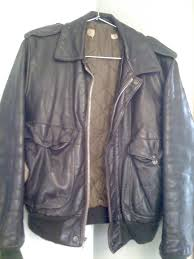 american base leather moto jacket w it s alan s old motorcycle jacket relax it s no misplaced italian or english gem