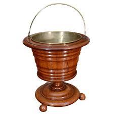 victorian walnut peat bucket modern fireplace toolsmodern