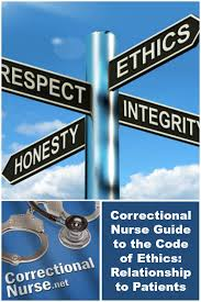 ethical issues archives correctional nurse net correctional nurse guide to the code of ethics relationship to patients